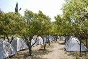 Kamp Drymades overdag