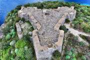 Ali-Pasha kasteel in Albanië