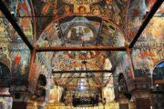 Voskopoja, kerk, schilderingen