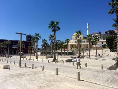 Het Grote Moskee van Durres Albanie