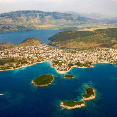 ksamil-eilanden albanie saranda