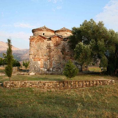 mesopotam-klooster in Albanie